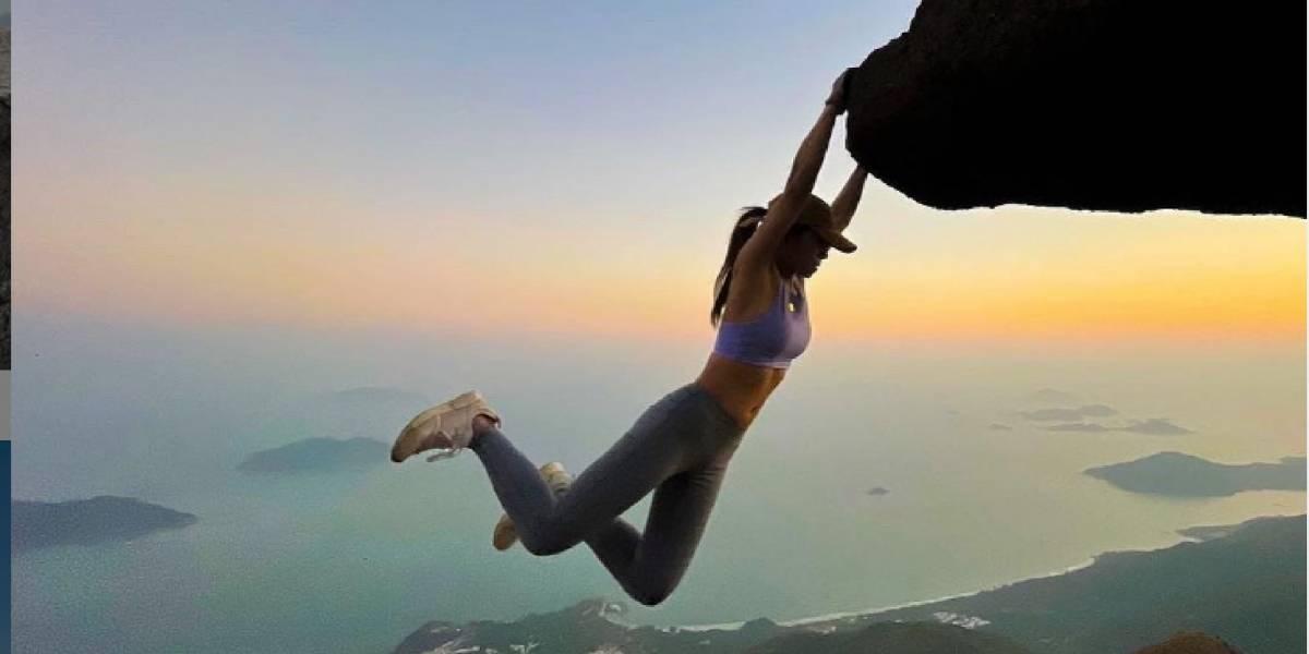 Influencer china murió intentando tomarse una selfie en una cascada