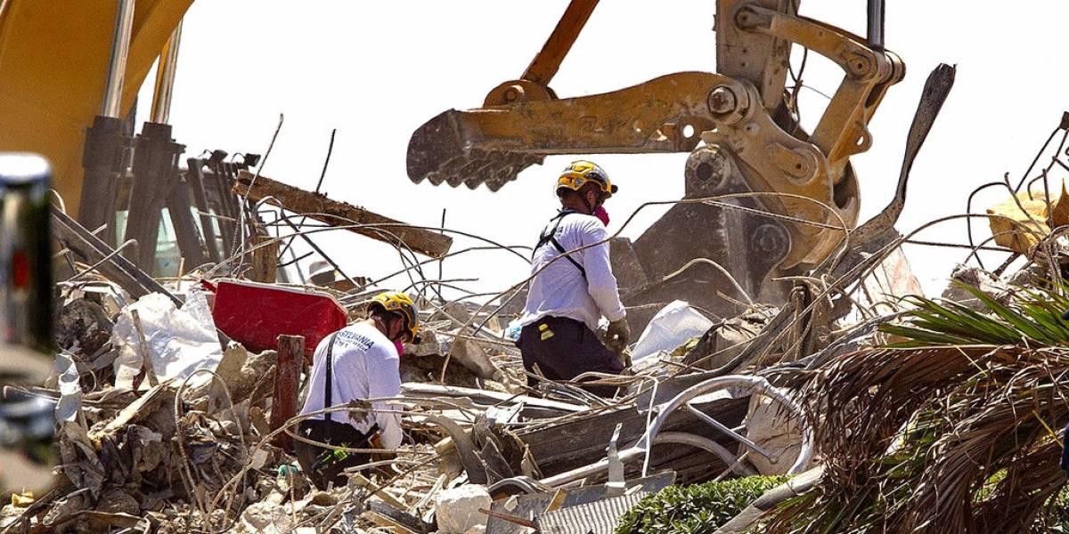 Alcanzan 95 las muertes confirmadas en condominio colapsado de Miami