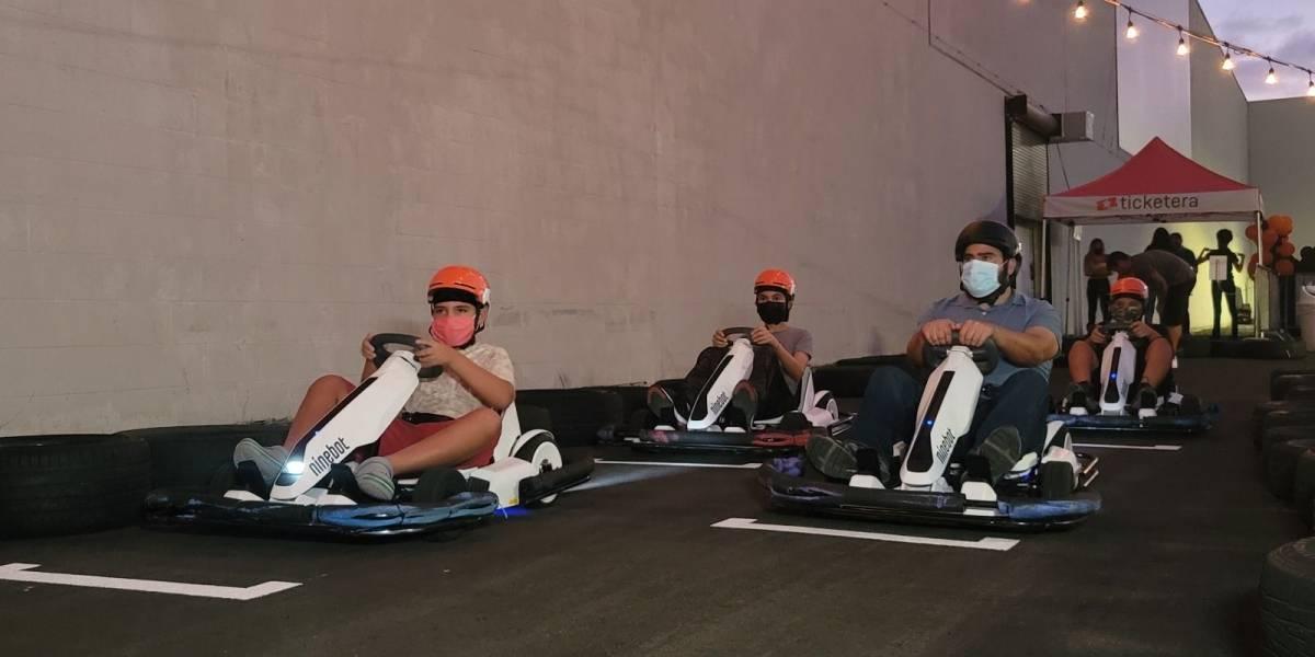 """9 Track: The Go-Kart Experience"" abrió sus puertas"