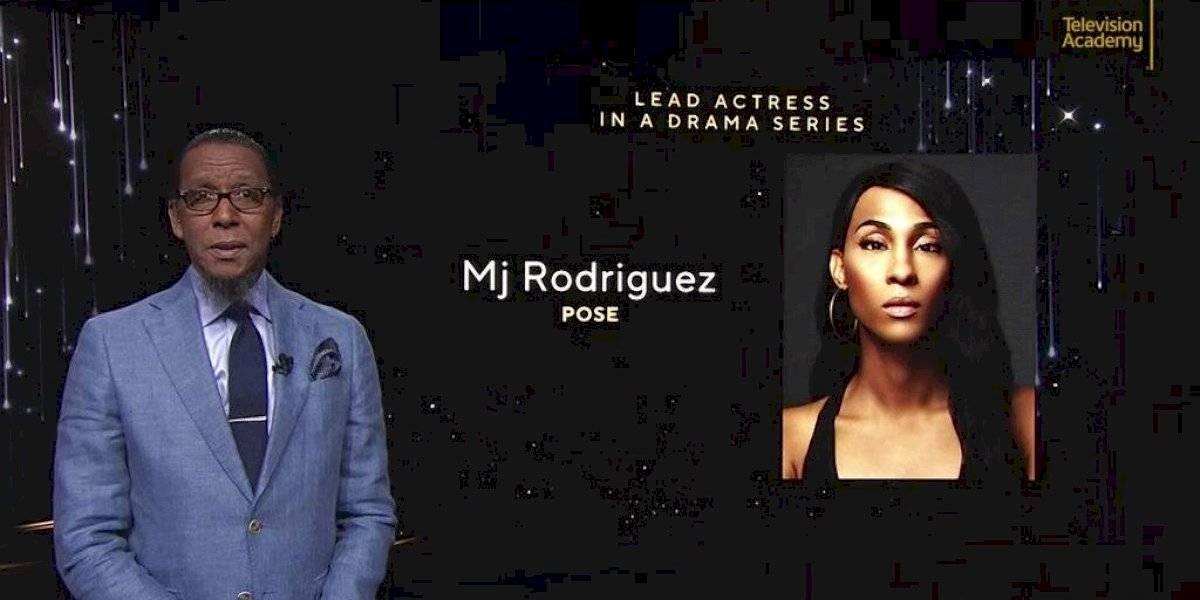 Trans, negra y boricua: Mj Rodríguez hace historia en las nominaciones de los premios Emmy