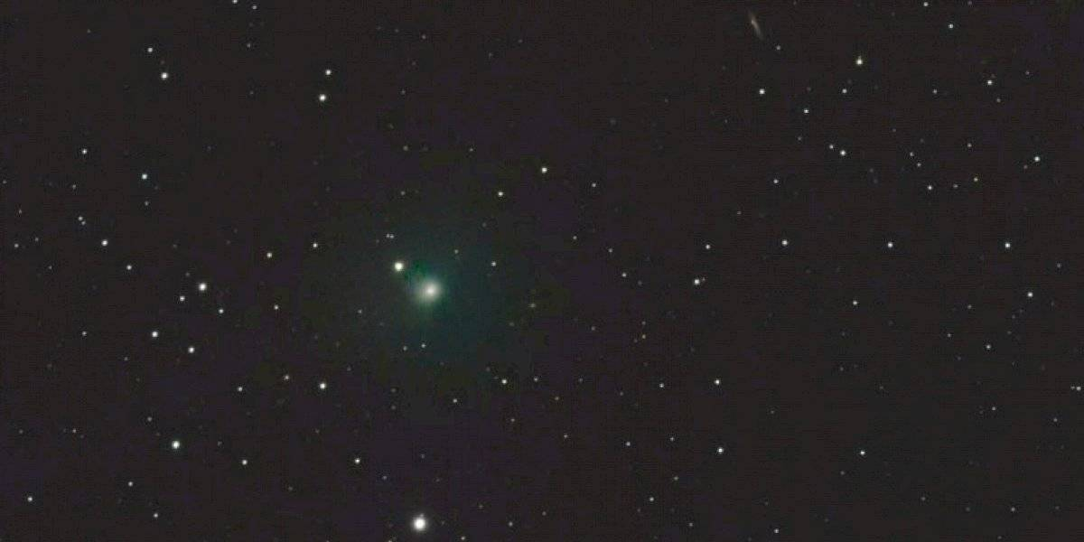 Captan desde San Germán un cometa que regresa en el año 7,602
