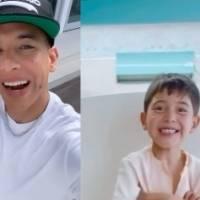 Daddy Yankee envía tierno mensaje a niño operado de corazón abierto