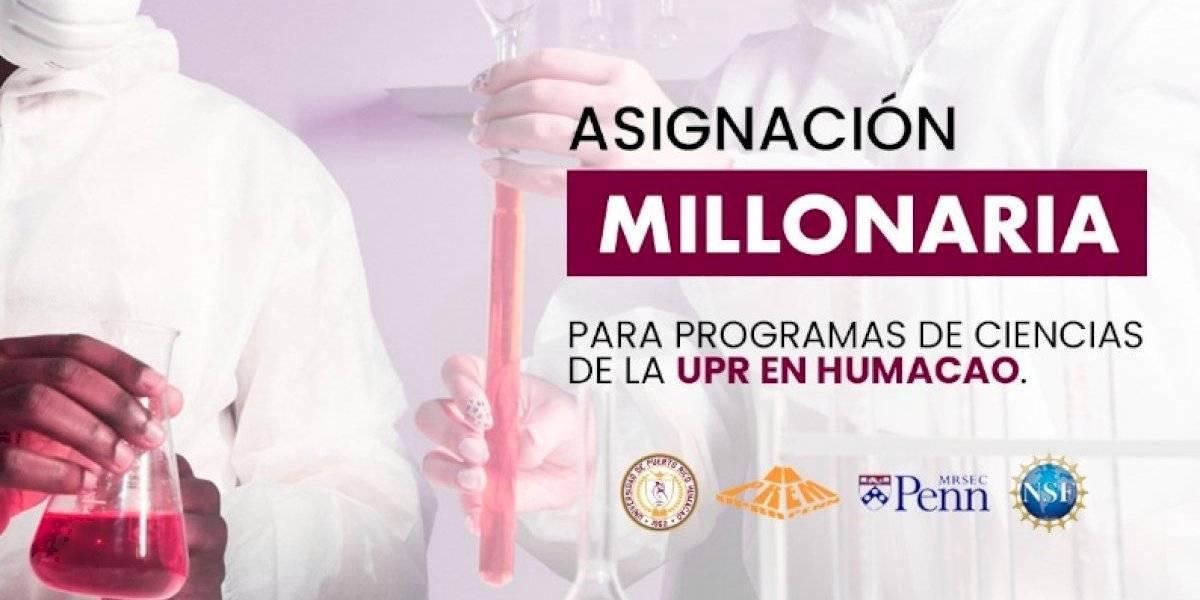 UPR Humacao recibirá $4.2 millones de la Fundación Nacional de las Ciencias