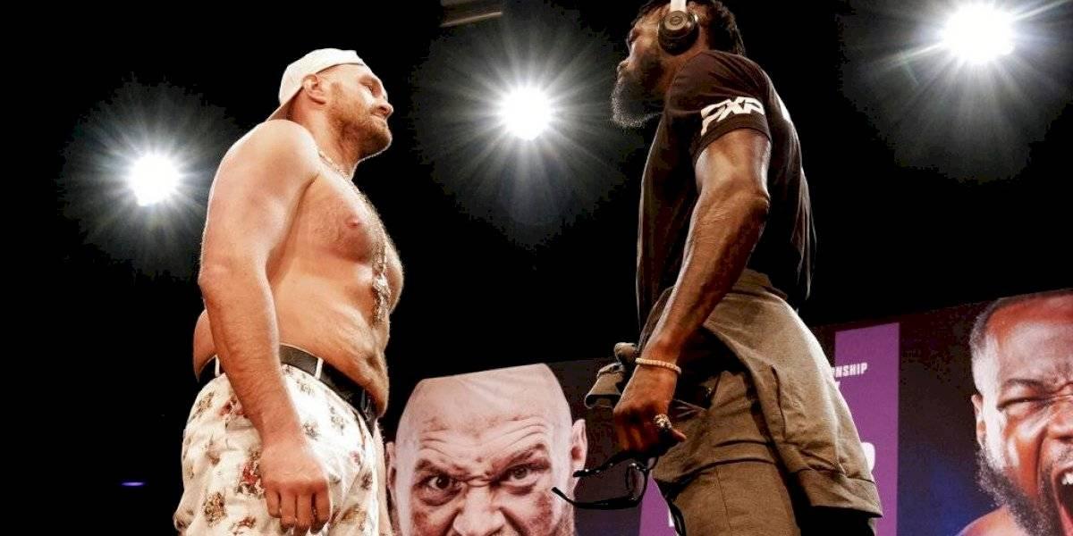 Posponen para octubre el tercer combate entre Tyson Fury vs. Deontay Wilder