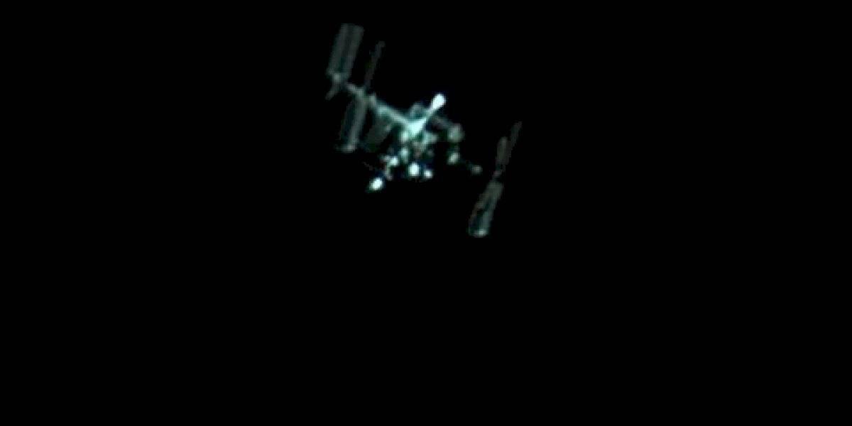 Captan a la Estación Espacial Internacional pasar sobre Puerto Rico