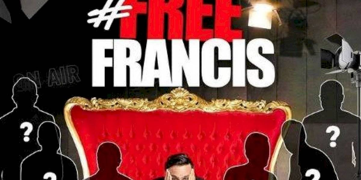 """Francis Rosas anuncia su nuevo show """"#FreeFrancis"""""""