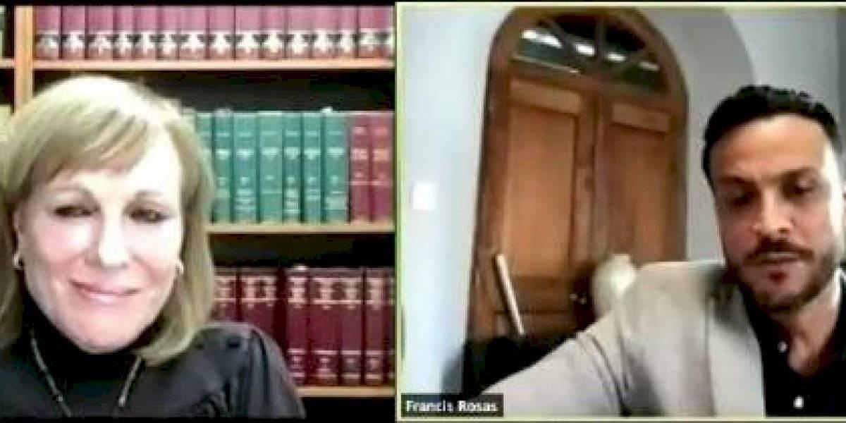 EN VIVO: Vista en la demanda de Gilda Santini y Sunshine Logroño contra Francis Rosas