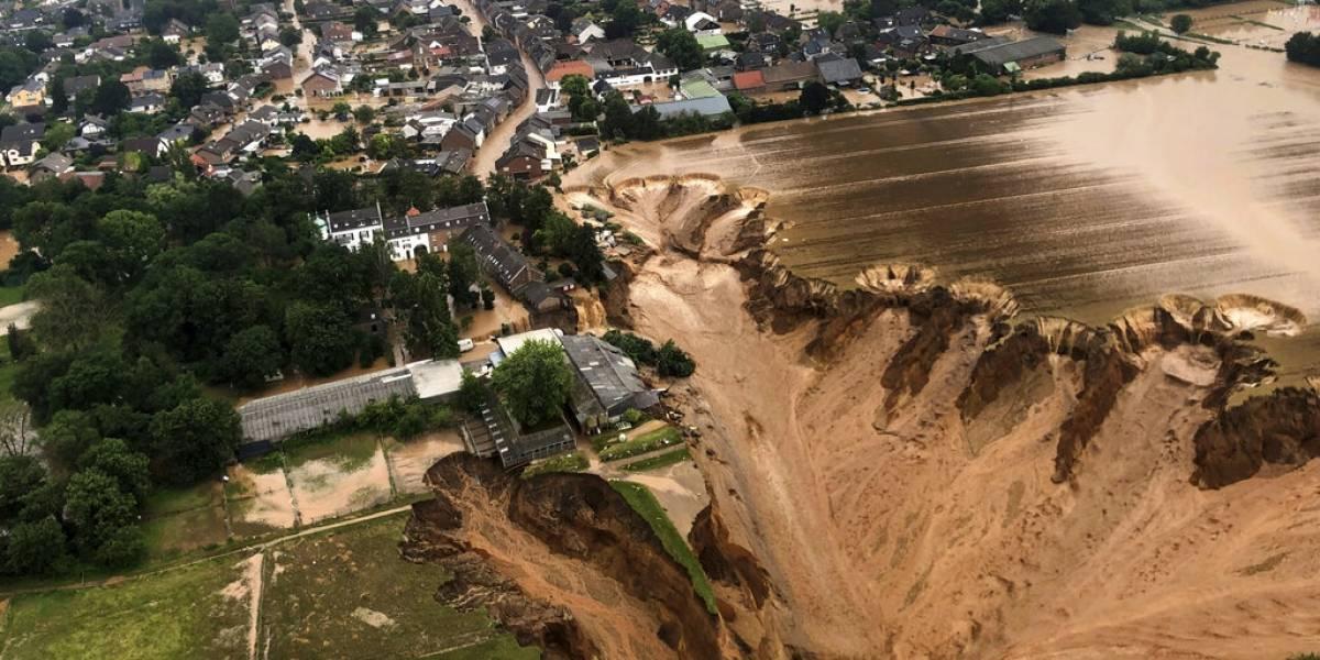 Inundaciones en Europa ya han dejado 125 muertos