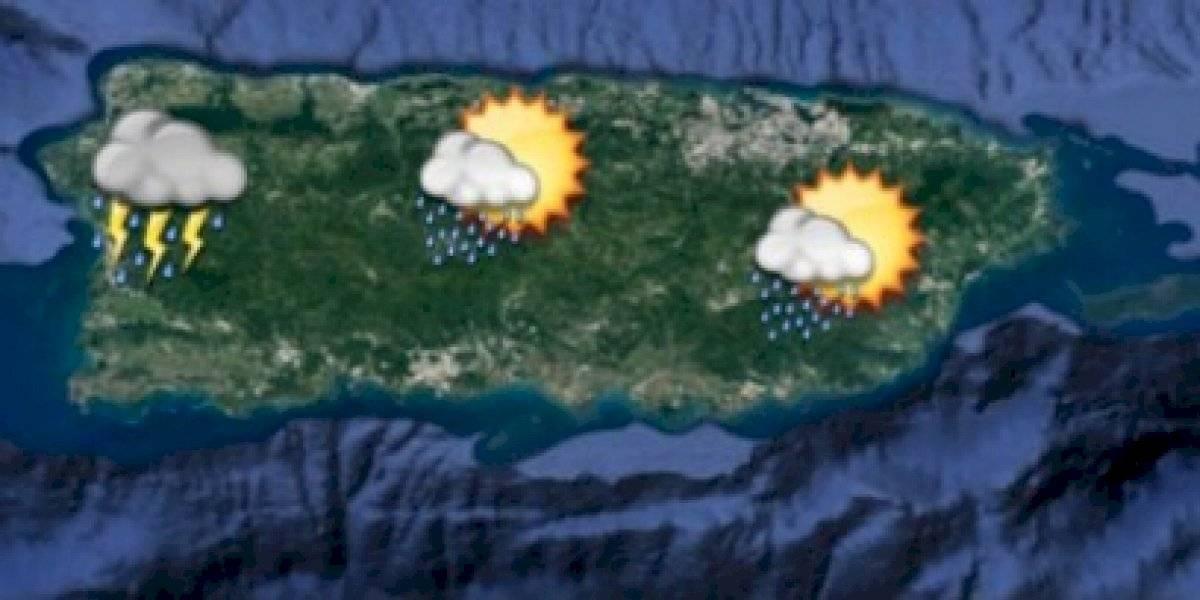 Pronostican otra ronda de aguaceros y tronadas para la isla
