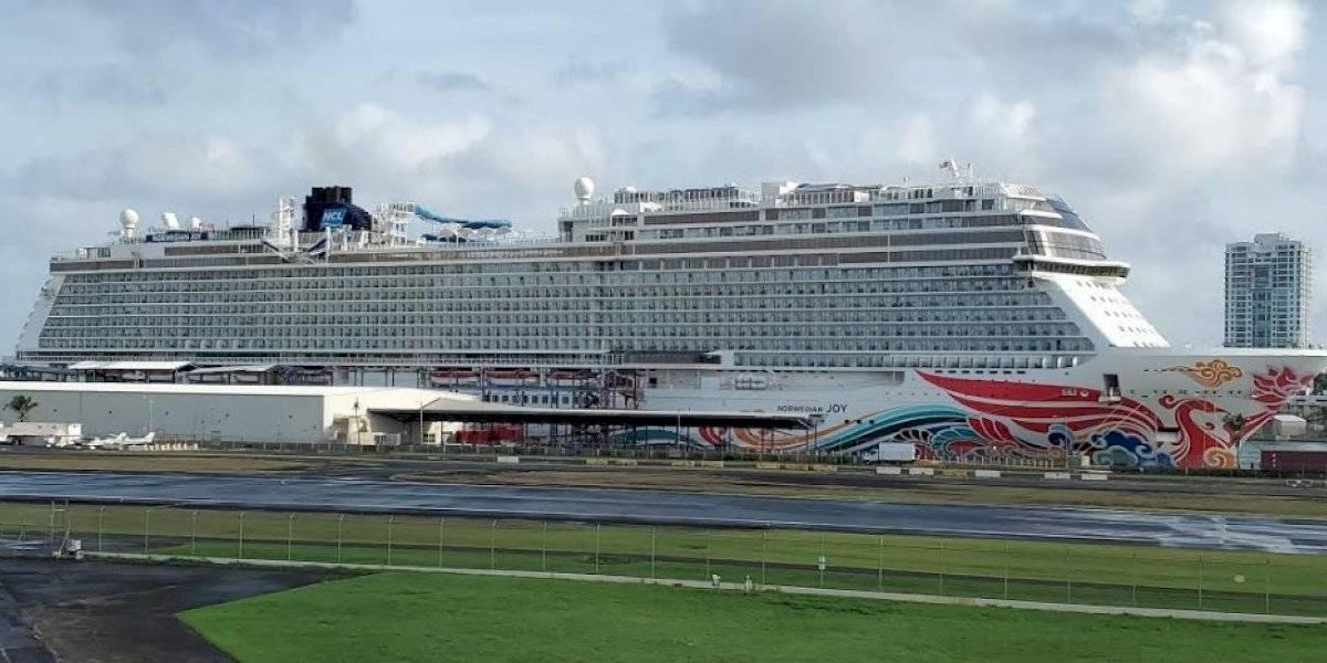 Paradas técnicas de dos cruceros dejan un impacto a la economía local de $2 millones