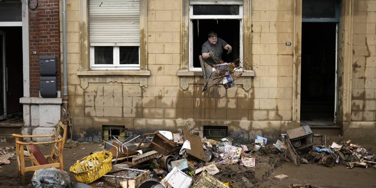Las impactantes imágenes de las inundaciones en Europa que dejan más de 150 muertos