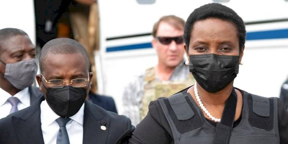 Regresa a Haití esposa de presidente asesinado Jovenel Moïse