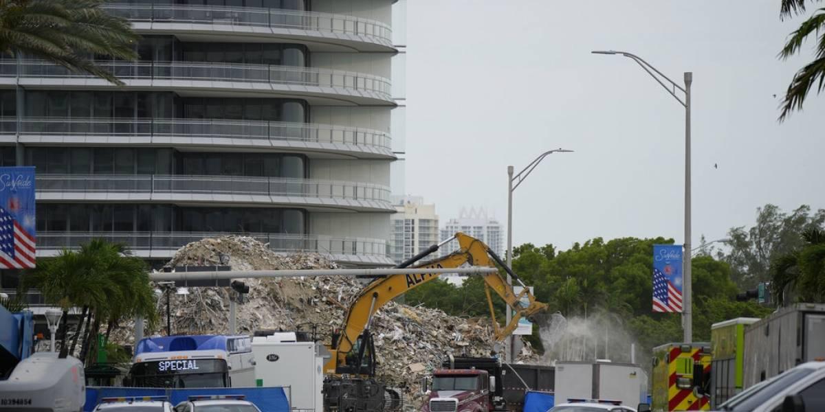 Identifican a otra víctima de edificio derrumbado en Miami