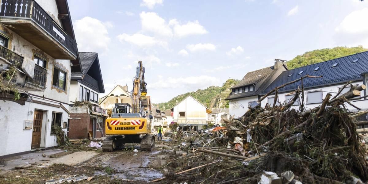 Cifra de muertos por inundaciones en Europa rebasa los 160