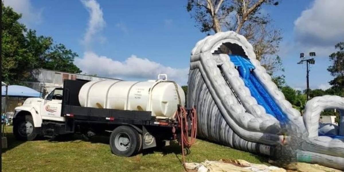 Acusan al alcalde Quebradillas de utilizar camión cisterna para fiesta de cumpleaños