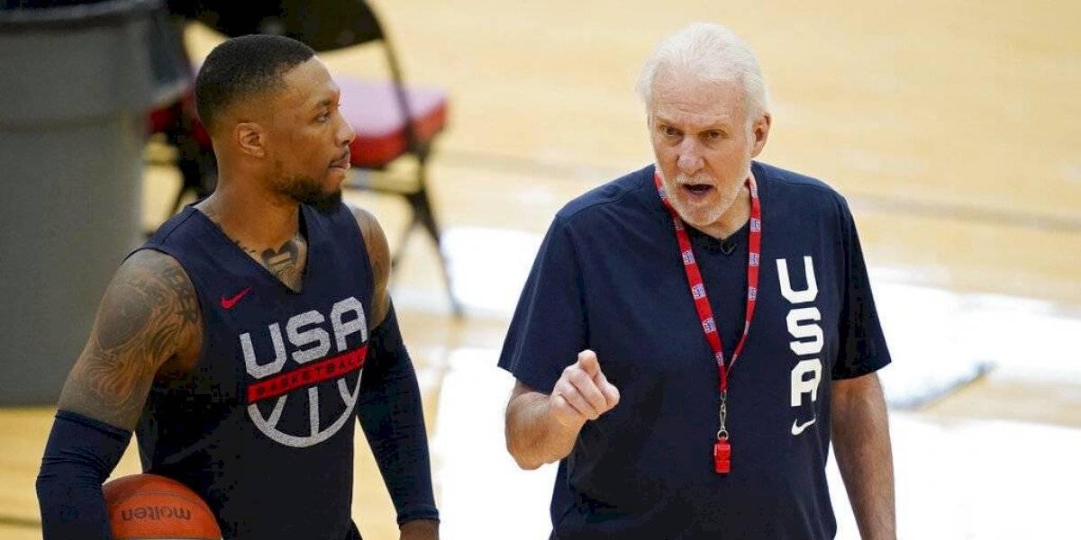 Equipo de baloncesto de EEUU viaja incompleto a Tokio
