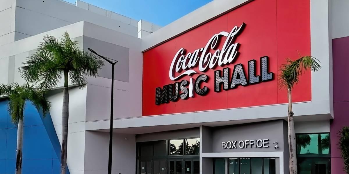 El Coca-Cola Music Hall hará concurso para celebrar su apertura
