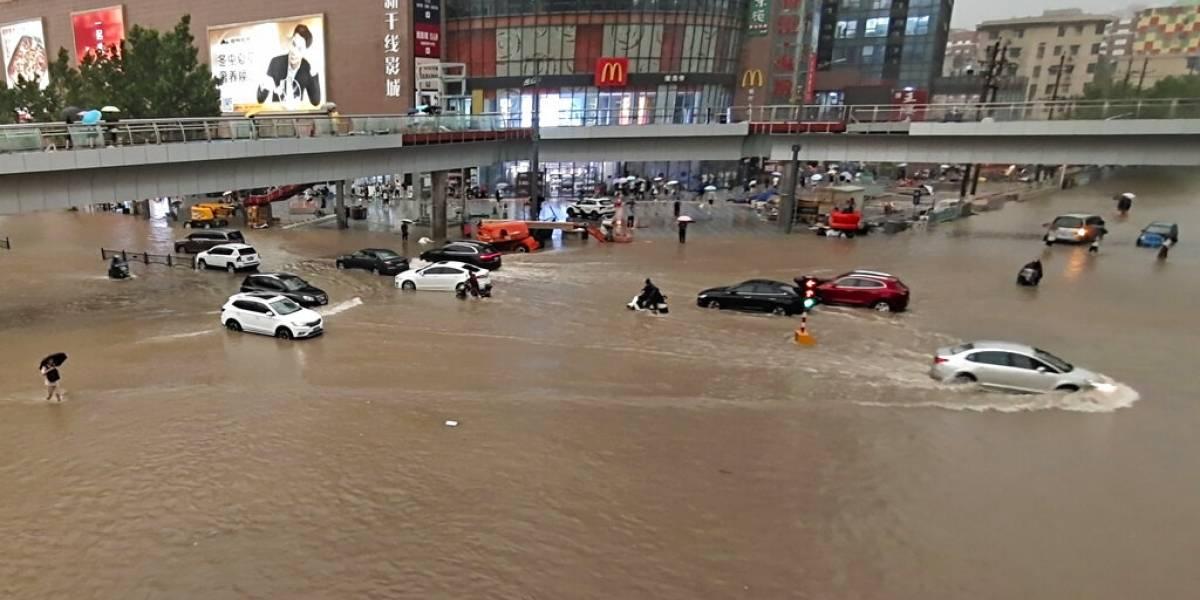 Aguaceros e inundaciones dejan al menos 12 muertos en China