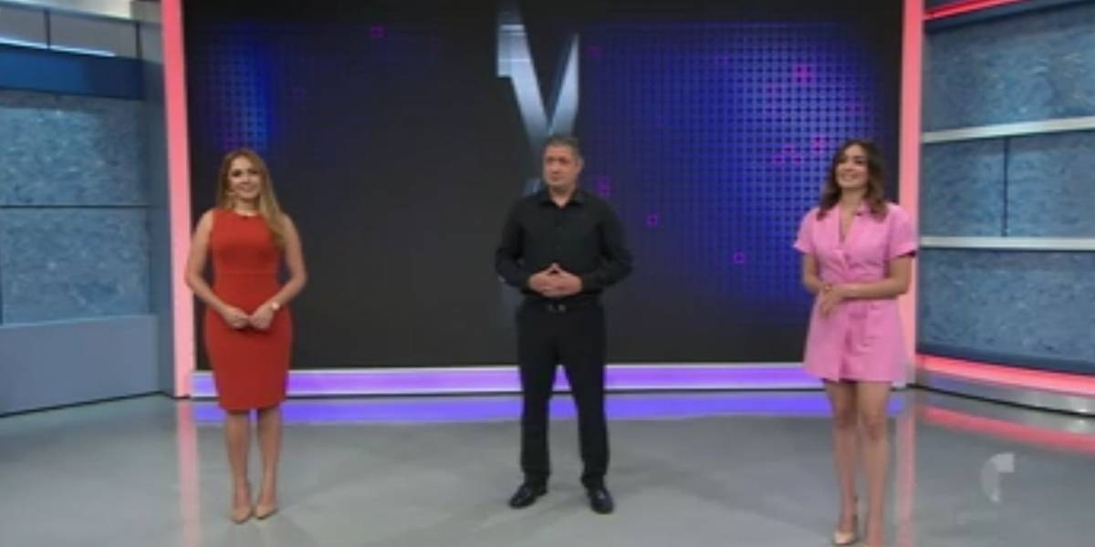 Equipo de Rayos X se despide de Jay Fonseca durante programa