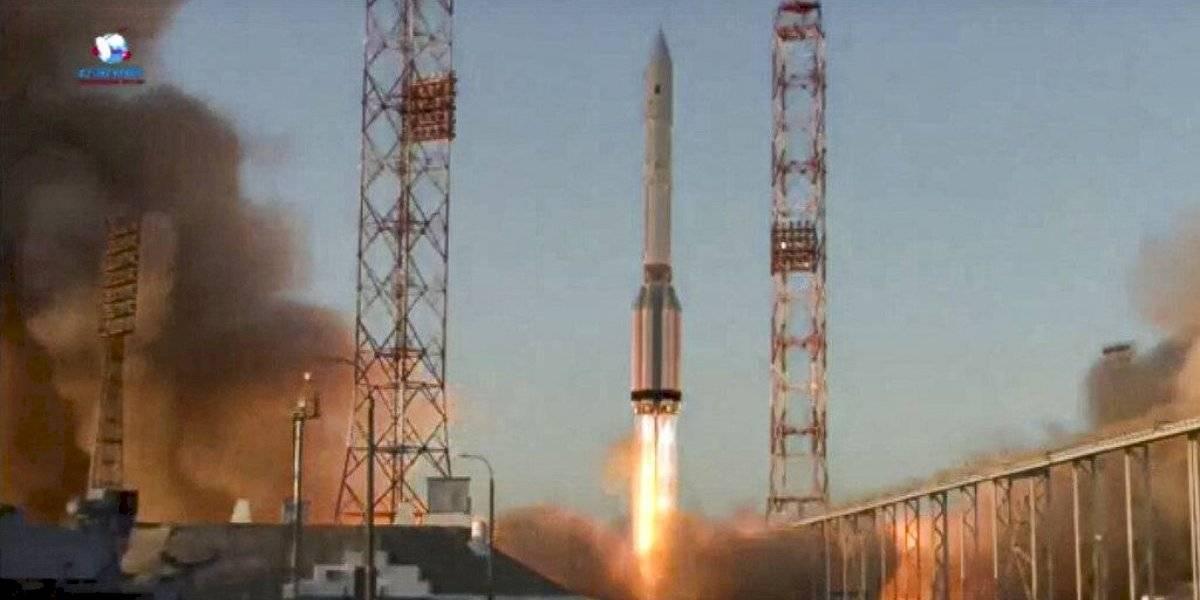 Rusia envía módulo científico a la Estación Espacial