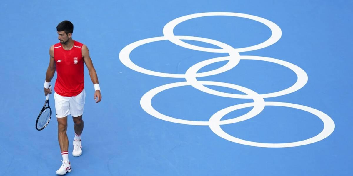 Djokovic sabe que 'la historia está en juego' en Tokio