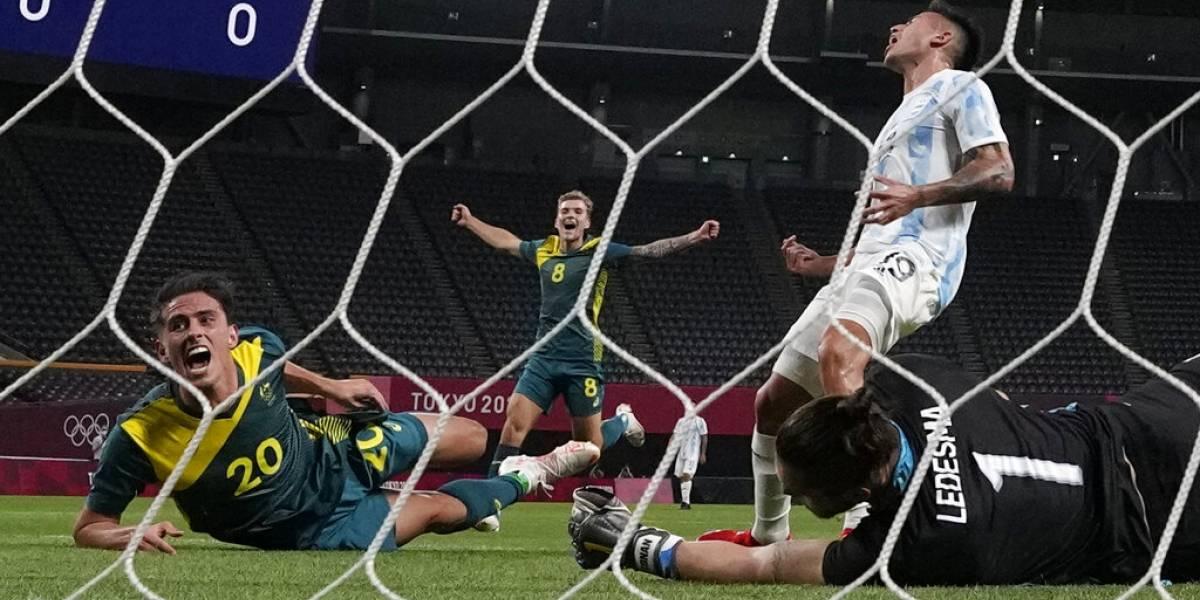 Inicia la acción olímpica: España y Argentina desentonan en el fútbol