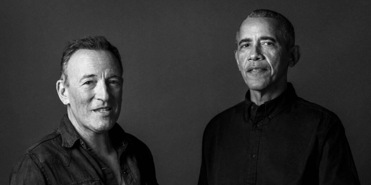 """""""Renegades"""", el libro de Barack Obama y Bruce Springsteen saldrá a la venta en octubre"""