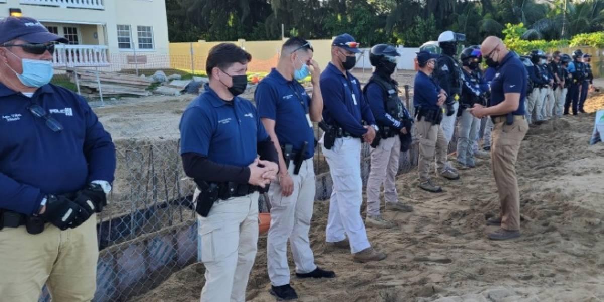 PIP condena uso de policías para proteger construcción de piscina en Rincón