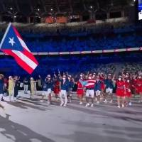 FOTOS: Así fue el desfile de la delegación boricua en el Estadio Olímpico de Tokyo 2020