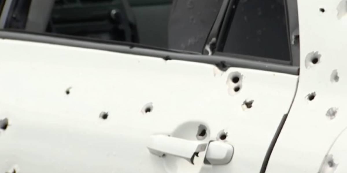 Joven madre y sus tres hijos quedan atrapados en medio de balacera en Villalba