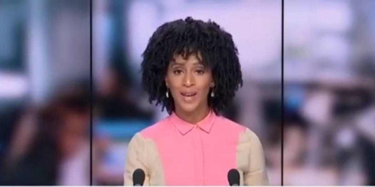 Presentadora casi queda estéril por usar productos para alisar el pelo