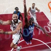 Pierde equipo de baloncesto de Estados Unidos contra Francia en Olimpiadas