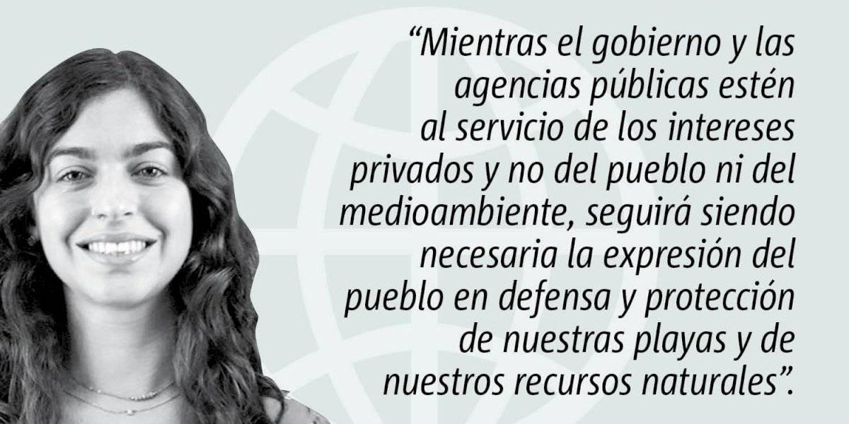 Opinión de Adriana Gutiérrez: Urge una nueva ley de costas