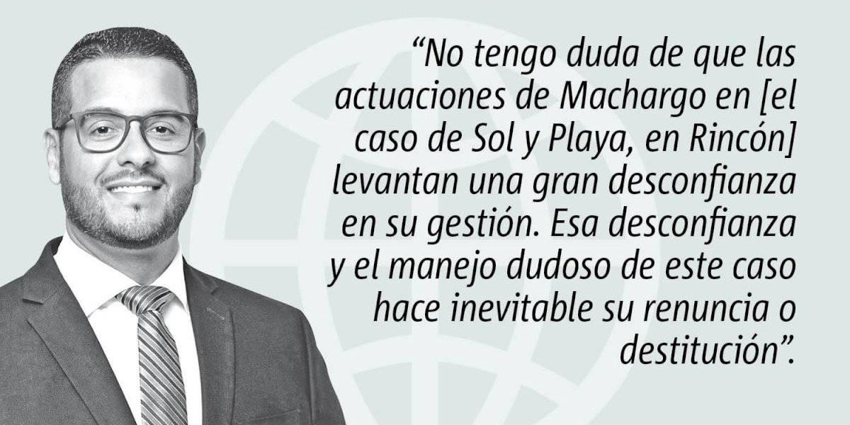 Opinión de Jesús Manuel Ortiz: Machargo tiene que renunciar