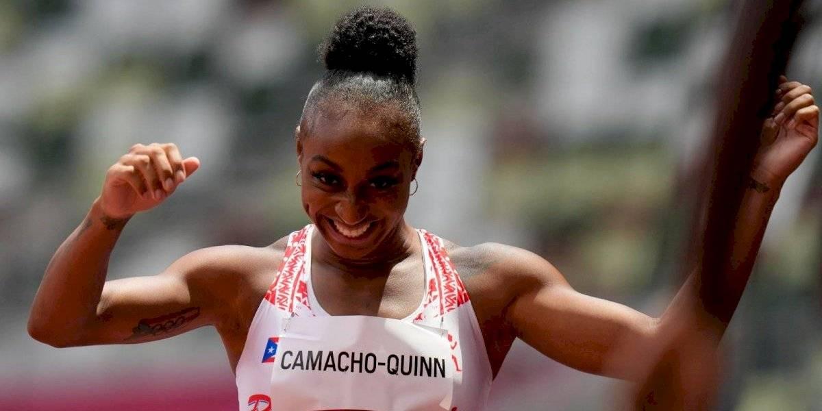 Jasmine Camacho-Quinn rompe récord olímpico y va por el oro