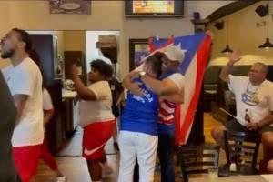 Así celebraron los familiares de Jasmine Camacho-Quinn tras conquistar la medalla de oro