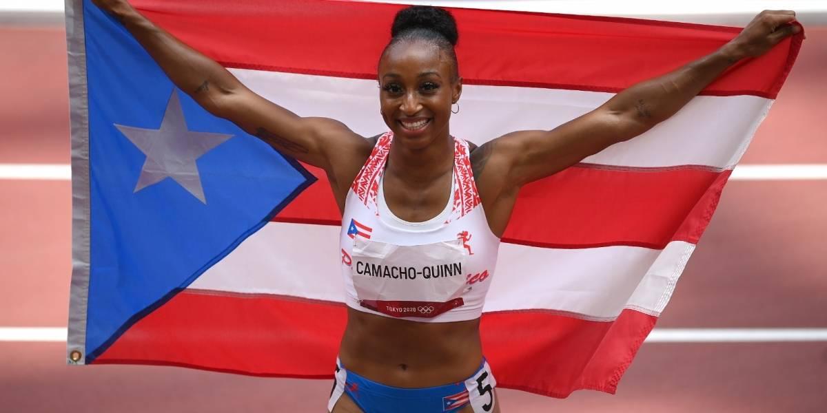 Fotogalería: Así fue la carrera por el oro de Jasmine Camacho-Quinn