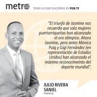 Opinión de Julio Rivera Saniel: Jasmine: puertorriqueña y punto