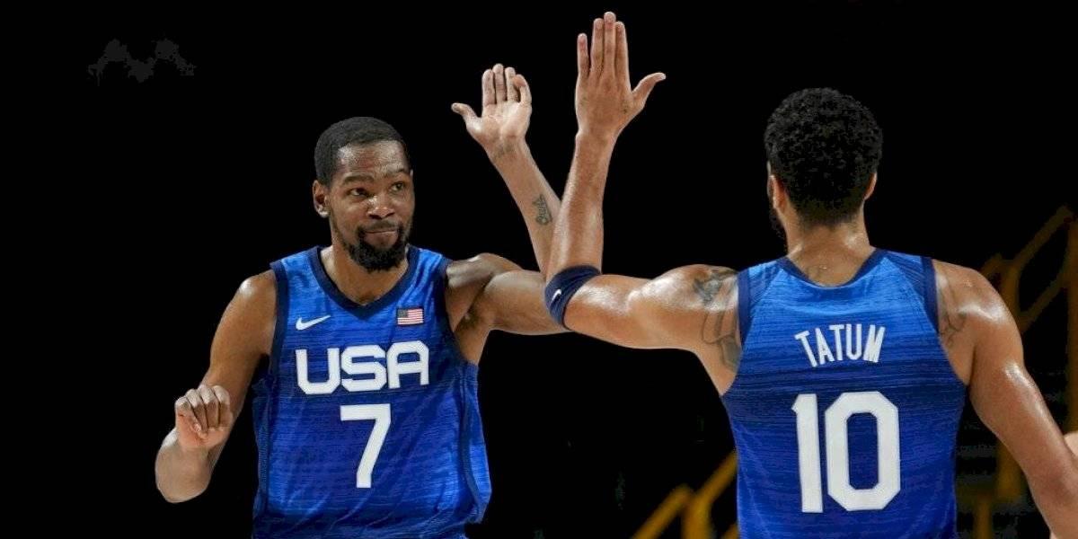 Tokio 2020: Kevin Durant lidera victoria de EE. UU. sobre España y pasan a semis