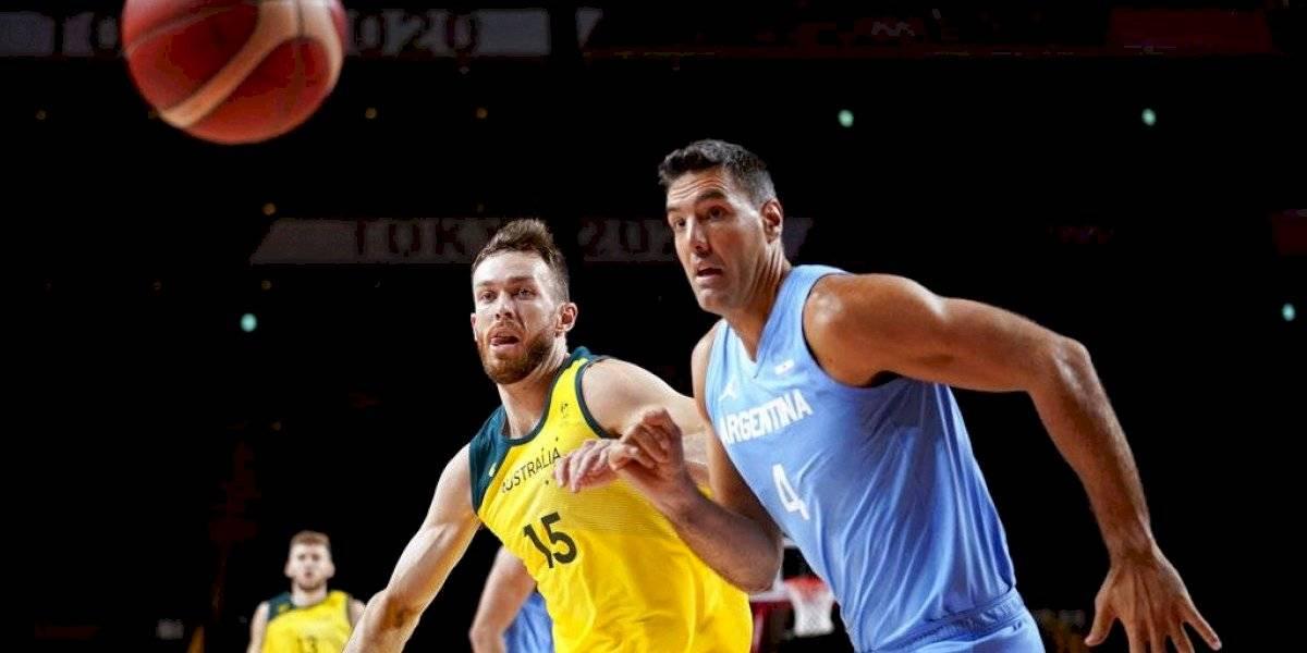 Tokio 2020: Argentina cae ante Australia en cuartos y Scola se despide