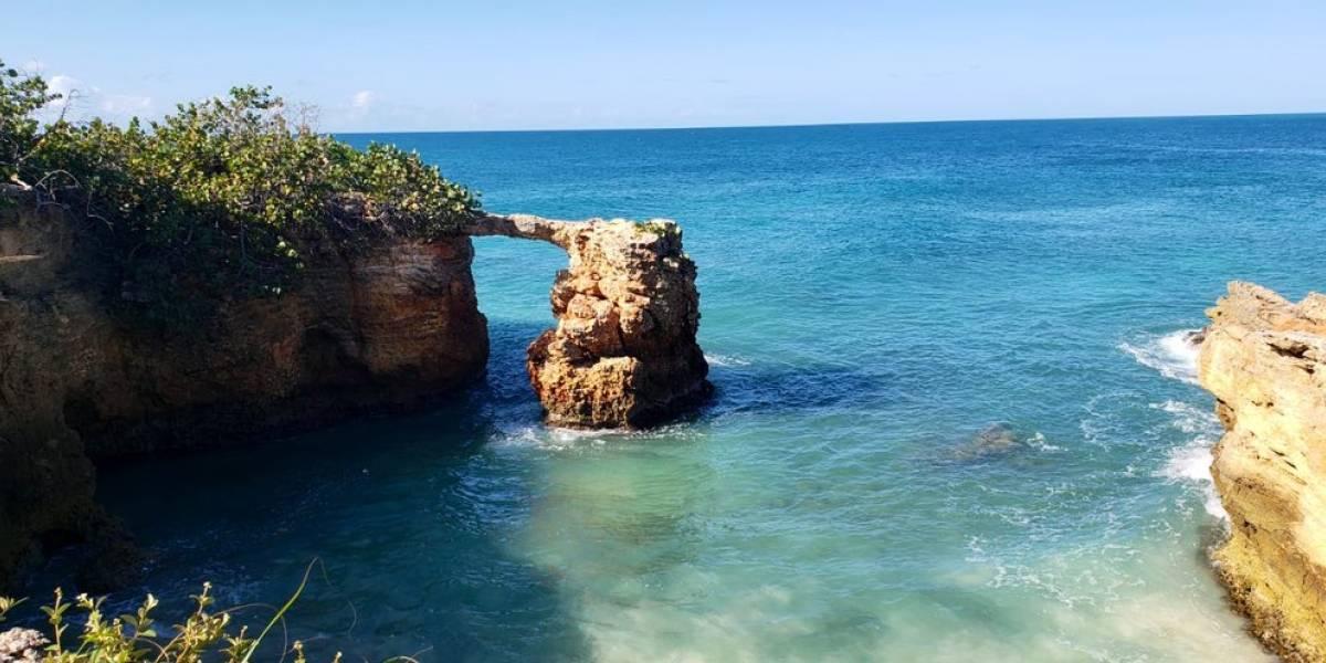 Advierten sobre peligro de pasar por puente de piedra en Cabo Rojo