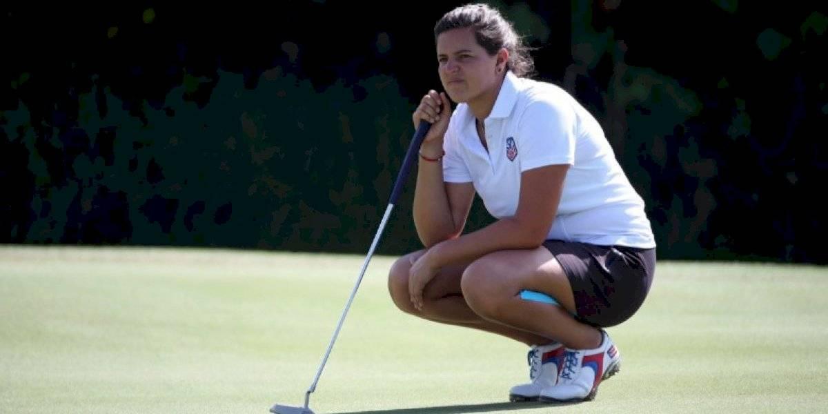 Lista María Fernanda para escribir la historia del golf femenino boricua en Tokio 2020