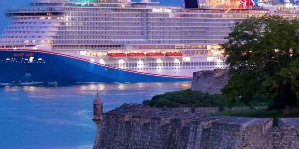Bajo investigación de la CDC crucero que llegó hoy a Puerto Rico
