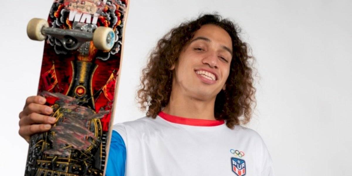 Steven Piñeiro logra segundo lugar en competencia de skateboarding en Praga