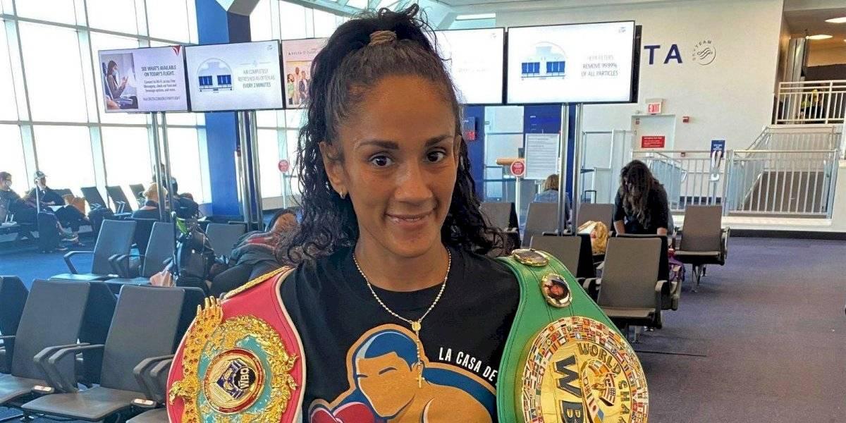 Amanda Serrano parte hacia Cleveland a defender sus campeonatos