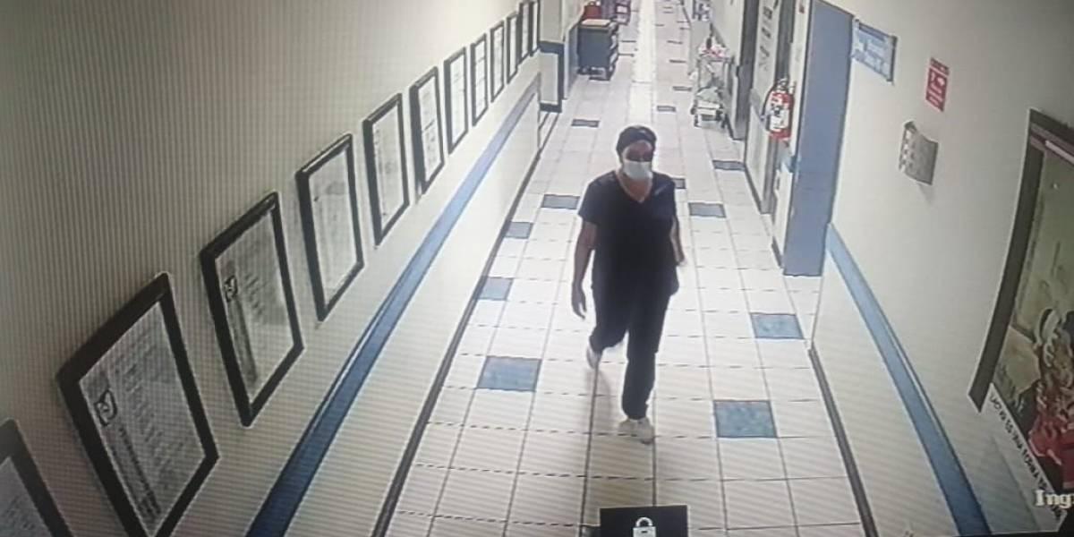 Falsa enfermera roba a bebé recién nacido desde un hospital