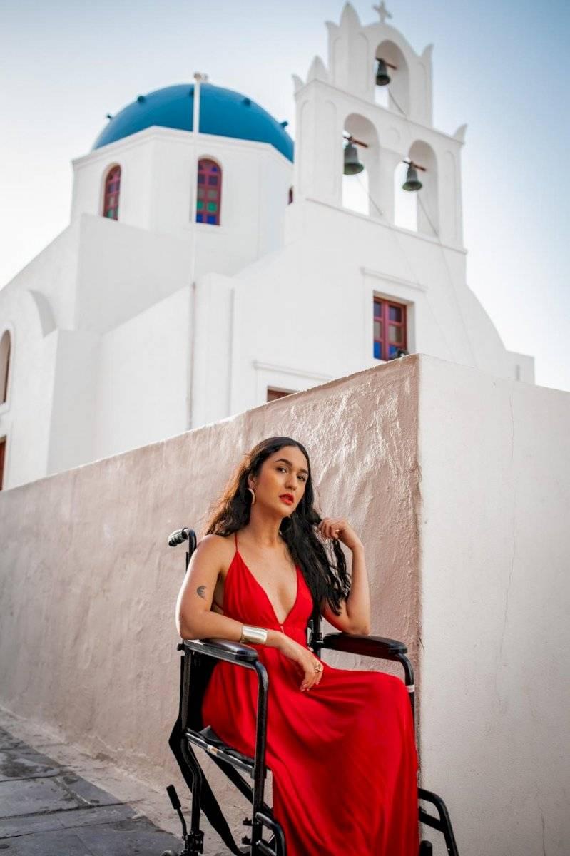Una Jeva con Esclerosis en Grecia