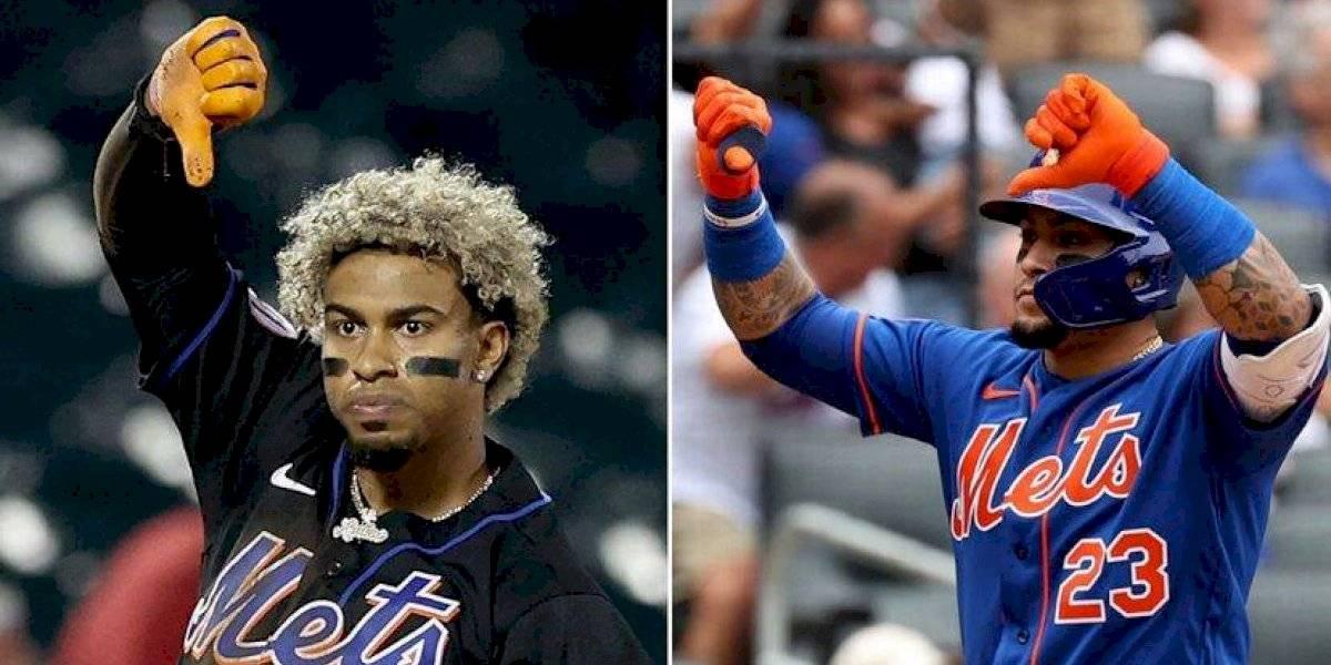 Báez y Lindor se disculpan por gestos en contra de fanaticada de los Mets
