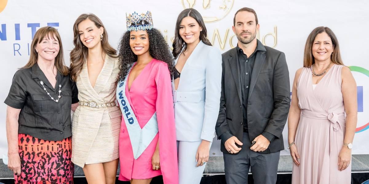Miss World 2021 grabará promociones en Puerto Rico