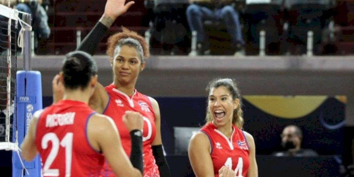 Puerto Rico gana medalla de plata en el Campeonato Continental NORCECA